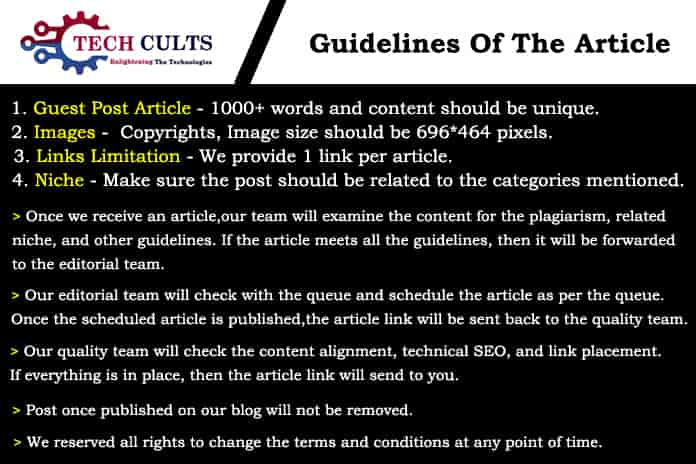 Guidelines - Techcults